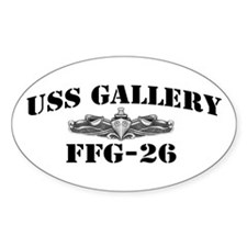 USS GALLERY Decal