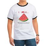 I Love Watermelon Ringer T
