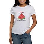 I Love Watermelon Women's T-Shirt
