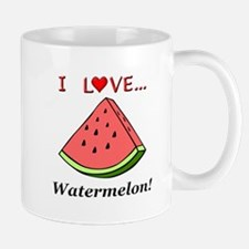 I Love Watermelon Mug