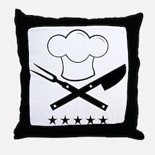 Cook Throw Pillow