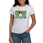 Irises / Papillon Women's T-Shirt