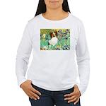 Irises / Papillon Women's Long Sleeve T-Shirt