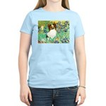 Irises / Papillon Women's Light T-Shirt