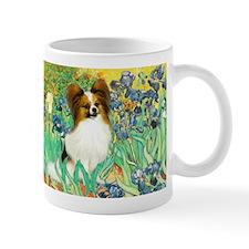 Irises / Papillon Mug