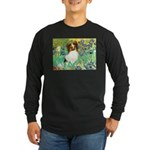 Irises / Papillon Long Sleeve Dark T-Shirt
