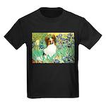 Irises / Papillon Kids Dark T-Shirt