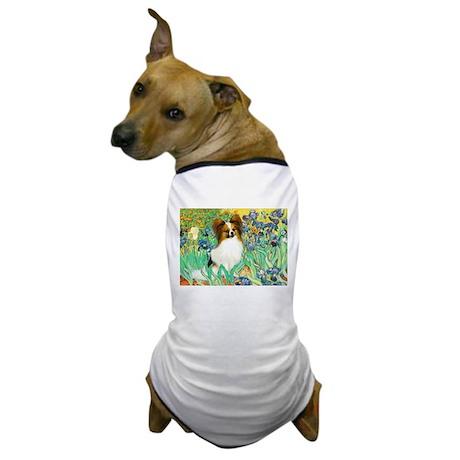 Irises / Papillon Dog T-Shirt