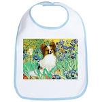 Irises / Papillon Bib