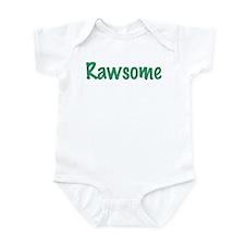 Unique Raw vegan Infant Bodysuit