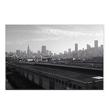 San Francisco Skyline Postcards (Package of 8)