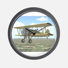 Cute Agriculture aircraft Wall Clock