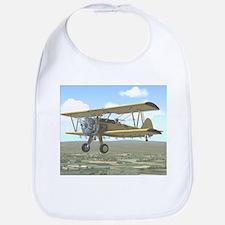 Cute Biplane Bib