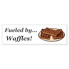 Fueled by Waffles Bumper Sticker