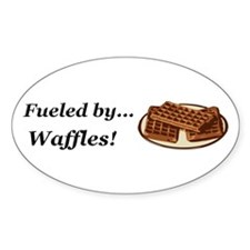 Fueled by Waffles Decal