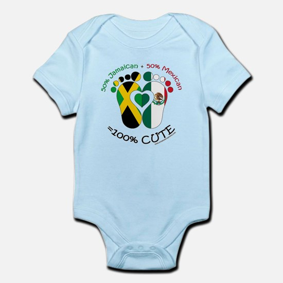 Jamaican Mexican Baby Body Suit