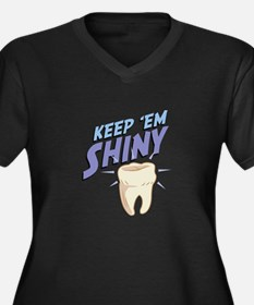 Shiny Tooth Plus Size T-Shirt