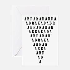 Abrakadabra Greeting Card