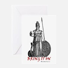 Bring It On Greeting Card