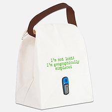 Funny Geocacher Canvas Lunch Bag