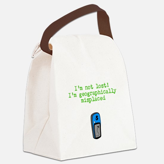 Cool Geocaching Canvas Lunch Bag