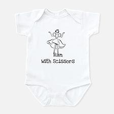 Ran With Scissors Infant Bodysuit