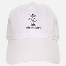 Ran With Scissors Baseball Baseball Cap