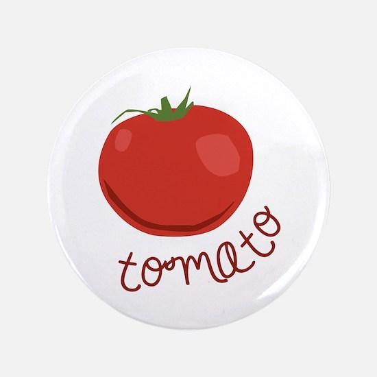 """tomato 3.5"""" Button"""