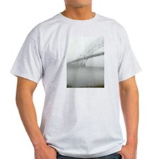 Bourne Bridge in Fog T-Shirt