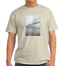 Bourne Bridge in Fog T-Shirt