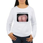 Buns in the Oven Women's Long Sleeve T-Shirt