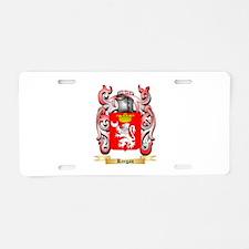 Keegan Aluminum License Plate