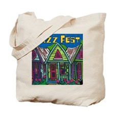 Cute New orleans jazz fest Tote Bag