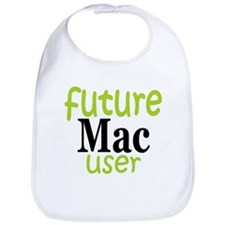 Future Mac User (green) Bib
