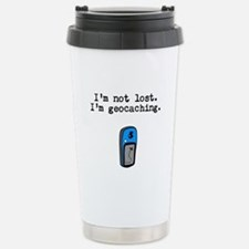 Geocaching, Not Lost Travel Mug