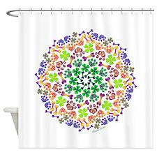 Lucky Dog Shower Curtain
