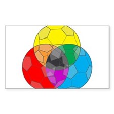 Soccer Color Wheel Decal