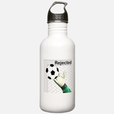 Rejected Soccer Ball Water Bottle
