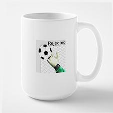 Rejected Soccer Ball Mugs