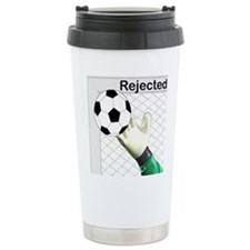Rejected Soccer Ball Travel Coffee Mug