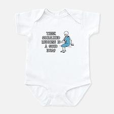 Socialized Medicine Skeleton Infant Bodysuit