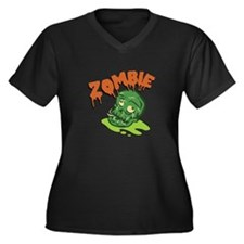 Zombie Plus Size T-Shirt