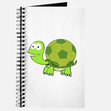 Turtle with Soccer Ball Shell Journal