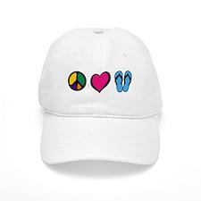 Cute Peace love Baseball Cap