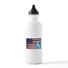 Disabled American Vet Water Bottle