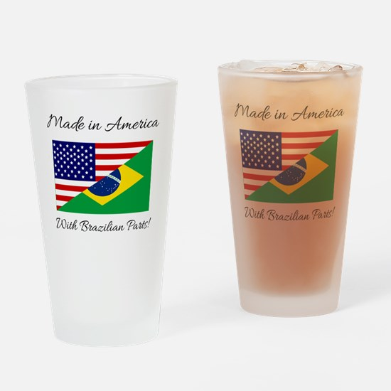 Cool Made in america Drinking Glass