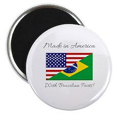Cute Brazilian Magnet