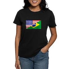 Unique Brazil flag Tee