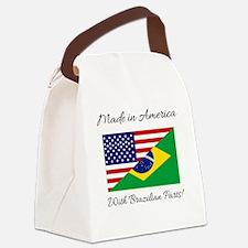 Unique Brazil Canvas Lunch Bag