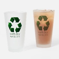 Earth Day 2015 Drinking Glass